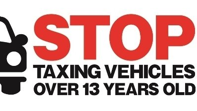STOP TAXING VEHICLES OVER 13 YEARS OLD
