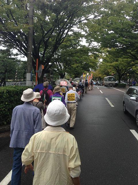 安保法案反対デモ