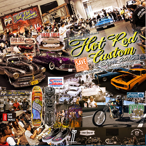 HOT ROD CUSTOM SHOW 2015