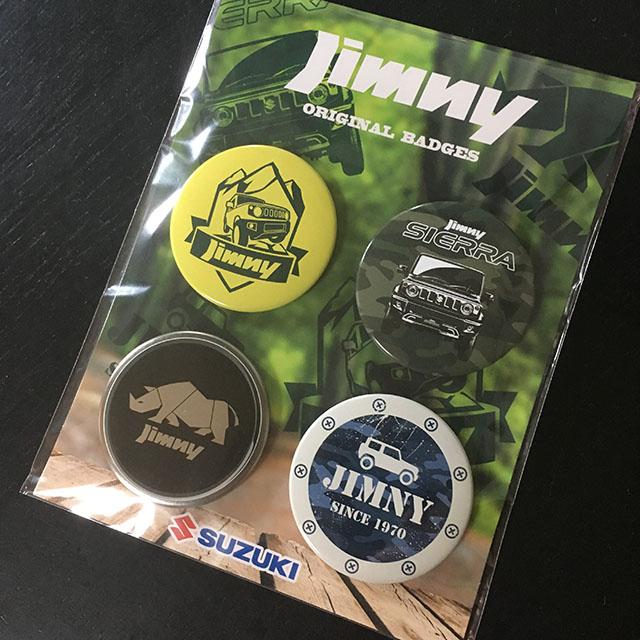 ジムニー 缶バッジ