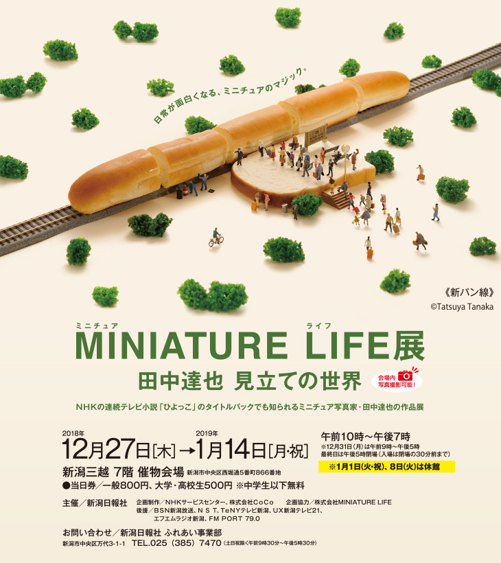 MINIATURE LIFE展